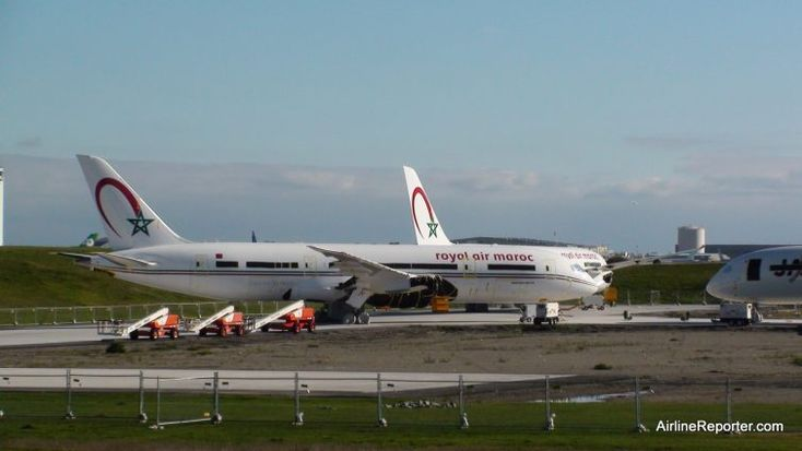 Royal Air Maroc 787s at Paine Field.
