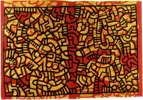 Keith Haring, Untitled, 1979