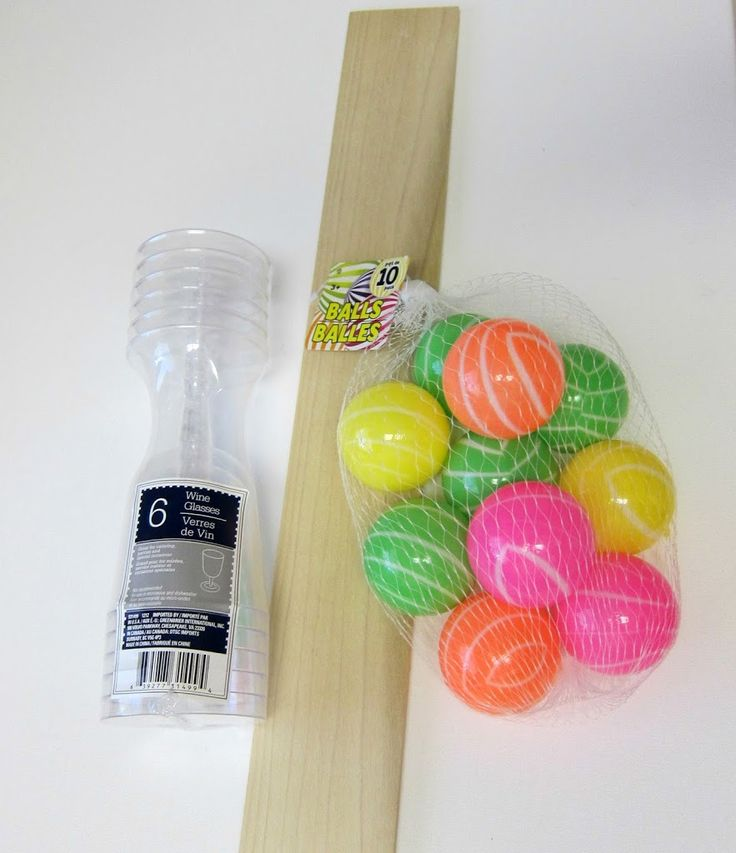 Use dollar store items to create your own carnival games. Great for parties and group activities.