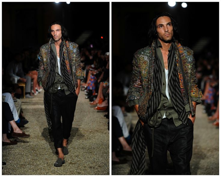 haider ackerman. not sure if boys like this but who wouldn't like to see this exotic -looking guy walking down the street?