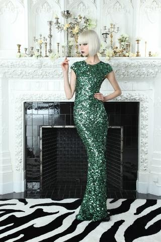 Gorgeous sequined gown by Alice & Olivia