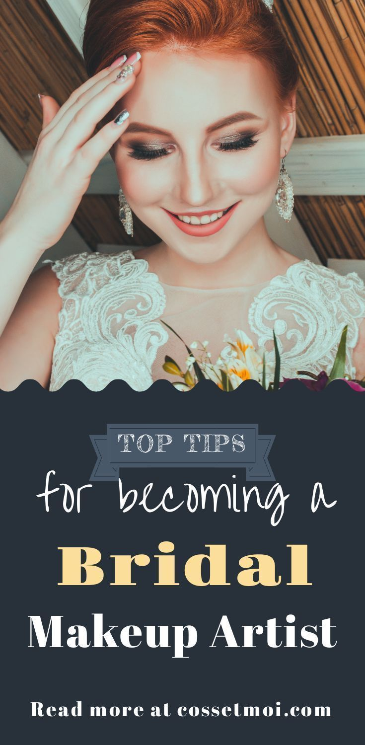 Notes On Becoming A Bridal Makeup Artist Do You Want To Become A Professional Wedding Makeup A In 2020 Romantic Wedding Makeup Bridal Makeup Bridal Makeup Artist