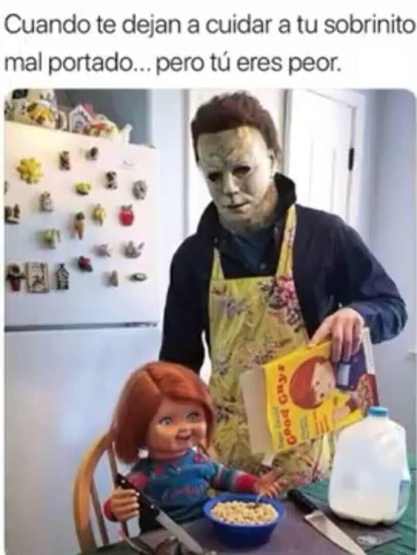 Memesespanol Chistes Humor Memes Risas Videos Argentina Memesespana Colombia Rock Memes Love Vira Halloween Memes Michael Myers Memes Funny Horror