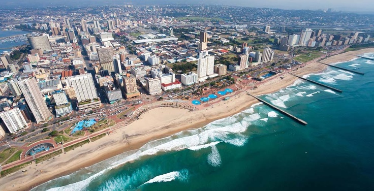 Dynamic Durban.Durban  is the largest city in the South African province of KwaZulu-Natal. It is also the 2nd most important manufacturing hub in South Africa.Flights to South Africa through http://www.traveltrolley.co.uk