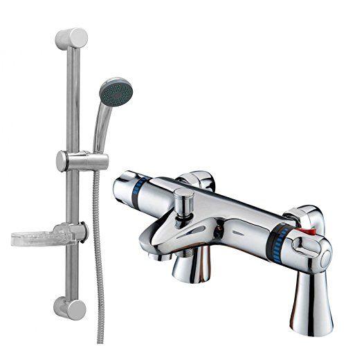 ENKI Modern Thermostatic Bath Mixer Taps Shower Slider Tall Deck Mounted Chrome No description (Barcode EAN = 5060472121011). http://www.comparestoreprices.co.uk/december-2016-6/enki-modern-thermostatic-bath-mixer-taps-shower-slider-tall-deck-mounted-chrome.asp