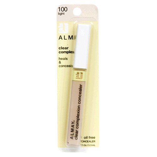 Almay Clear Complexion Oil Free Concealer, Light 100, 0.18 Ounce Package Almay,http://www.amazon.com/dp/B000H3EMEA/ref=cm_sw_r_pi_dp_3fAqtb17VQ2MFTX7