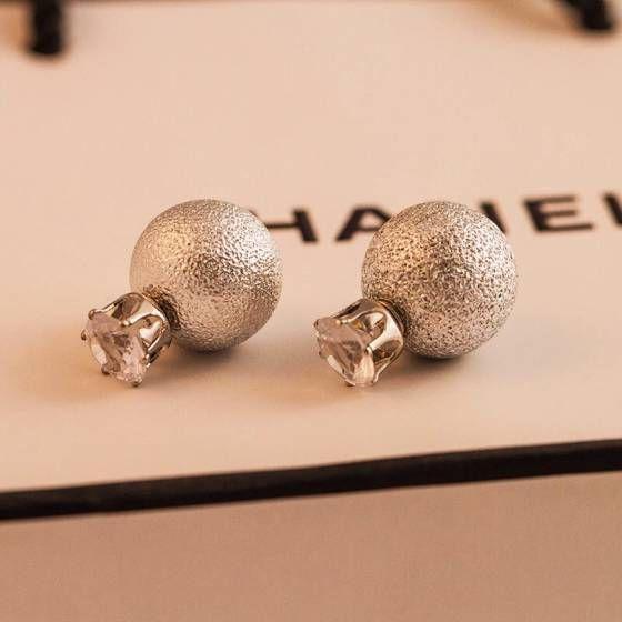 Shopo.in : Buy Silver Shiny Studs online at best price in New Delhi, India