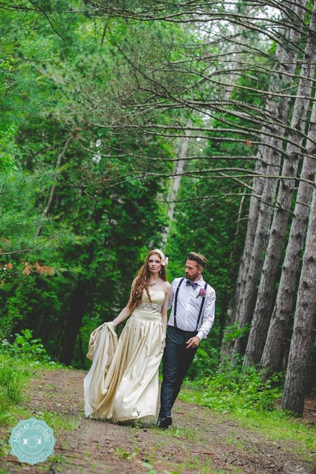 Wedding Planner Magazine | Enchanted Forest | Marcie Costello Photography