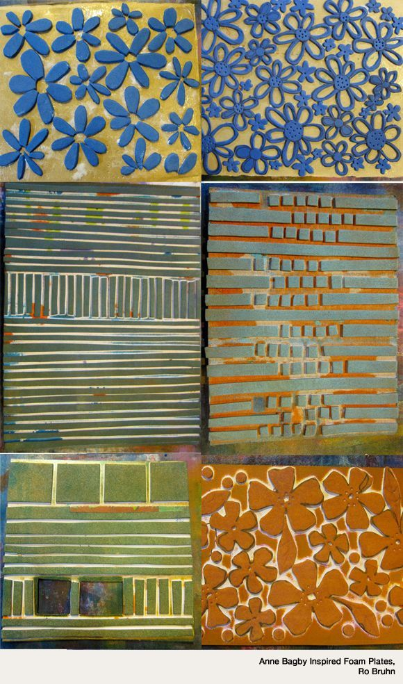 Anne bagby foam stamps