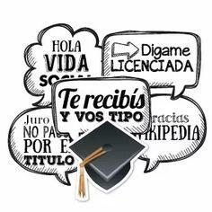 photobooth props fotos cartelitos graduación egresados