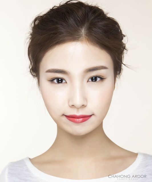 Right Orange Rip Point Make-up 라이트 오렌지 립포인트 메이크업 by Chahong Ardor