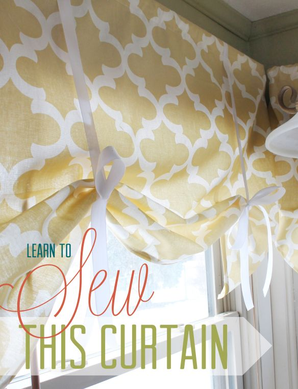 Learn To Sew This Curtain