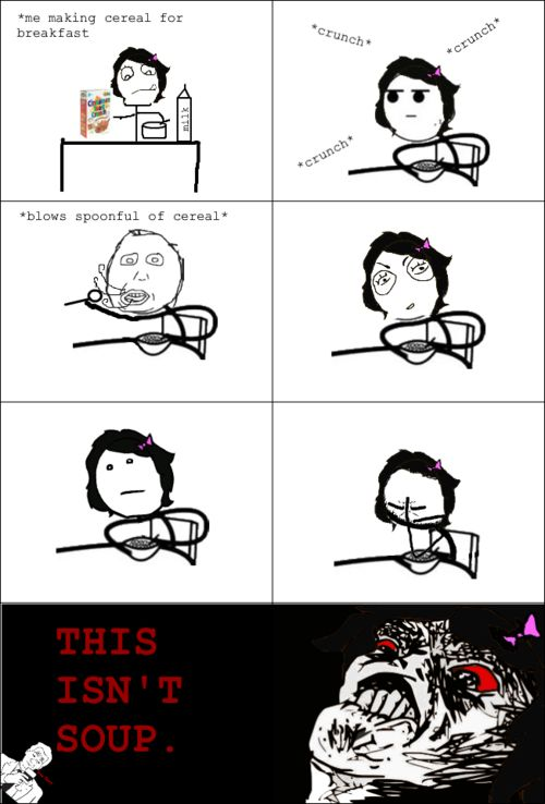 funny rage comics breakfast. Lexi remember when u did this to ice cream. Lol