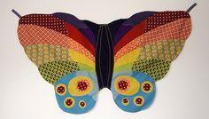 DIY Schmetterlingumhang, Nähen Selbermacher