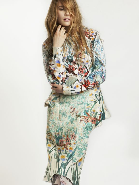 Collection outfit no.2  keiko nishiyama - london college of fashion - MA 2013