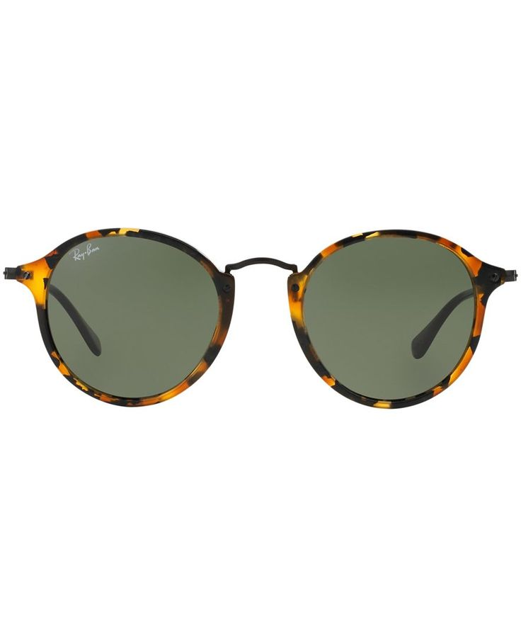 ray ban sun glasses  ray ban black round sunglasses ? liked on polyvore featuring accessories, eyewear, sunglasses, glasses, round rim glasses, ray ban glasses,