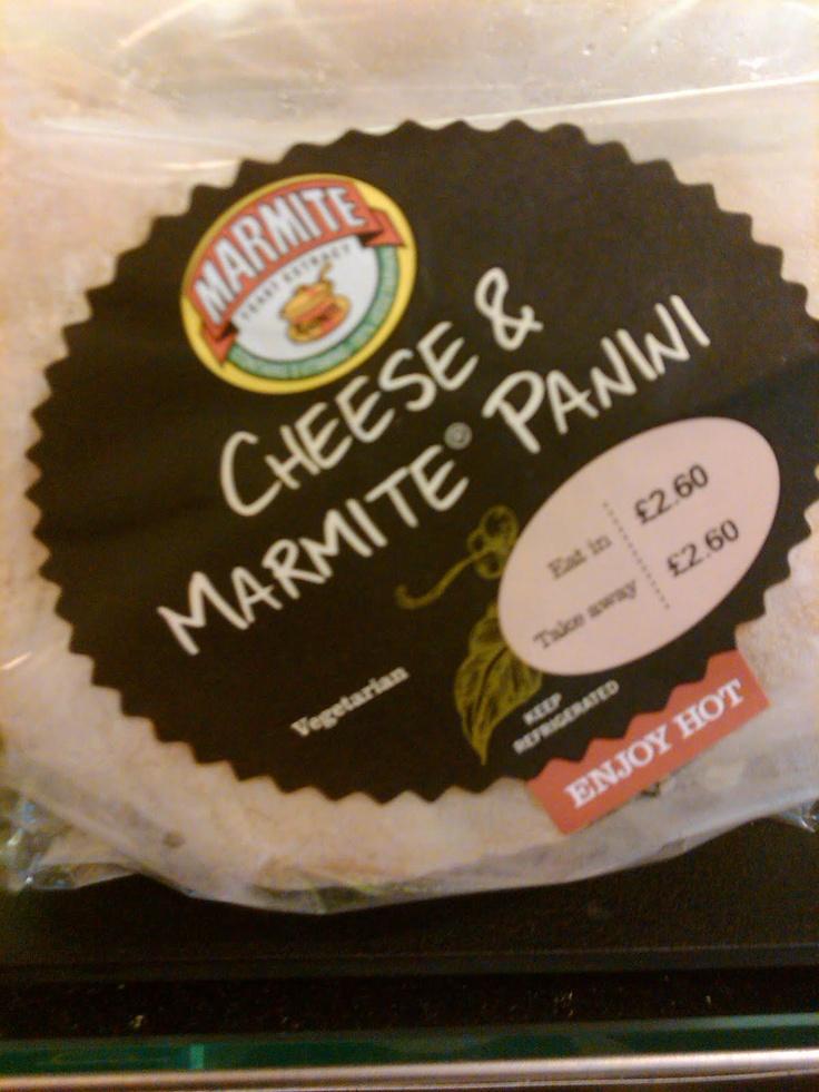 Marmite panini