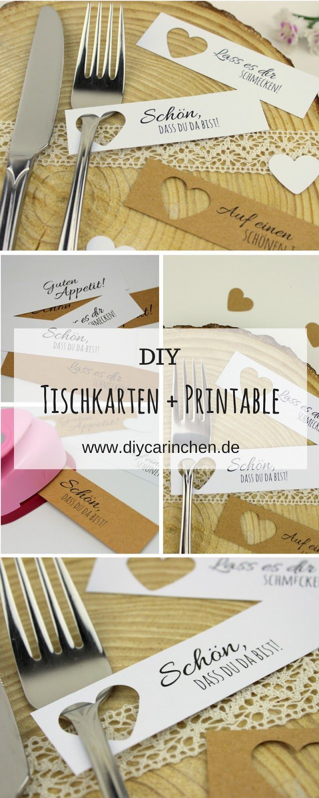DIY Place Cards Easily Make Themselves + Free Templates – Wedding
