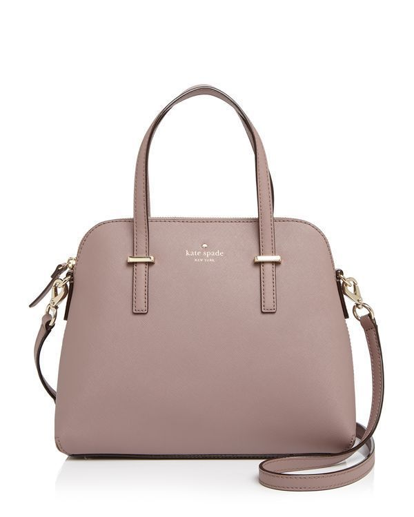 Constructed from luxe saffiano leather, kate spade new york's structured satchel offers a timelessly elegant silhouette and a convertible crossbody strap, making it an ideal office-and-beyond option. http://www1.bloomingdales.com/shop/product/kate-spade-new-york-satchel-cedar-street-maise?ID=809207&CategoryID=16958&LinkType=PDPZ1