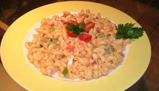 Salade de macaroni d'été