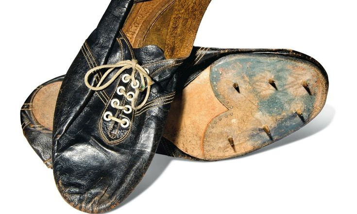 Roger Bannister's sub-four-minute mile shoes sell for £220,000 at auction
