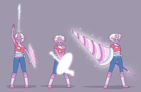 Rainbow Quartz - Steven and Pearl possible fusion