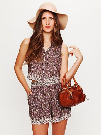 Daisy Eyelet Skort  www.freepeople.co...