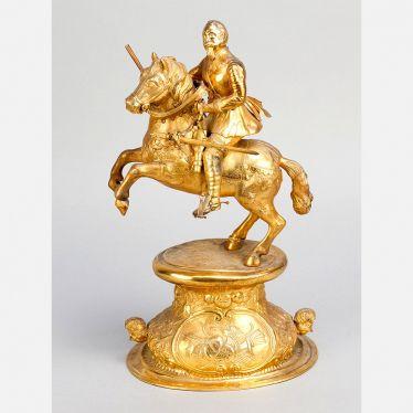 Deutsche Silber-Skulptur von Gustav Adolf II. (1594-1632)#porzellan #skulpturen #keramik #bronze