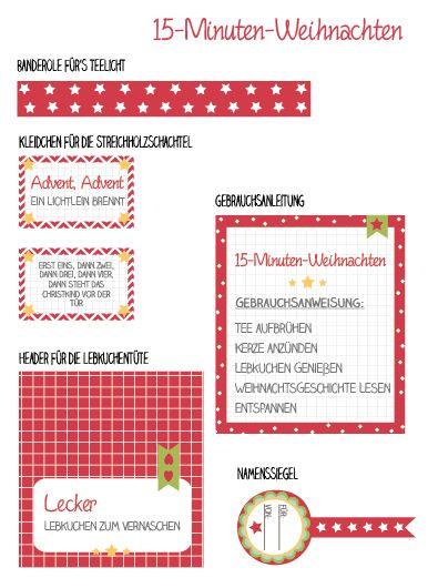 Willi & Lilli  15-Minuten-Weihnachten DIY Kleinigkeiten zum Verschenken