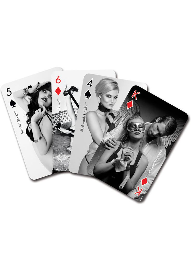 Buy Sex And Mischief Playing Cards online cheap. SALE! $4.49