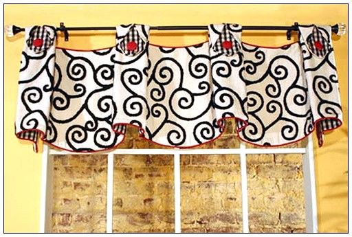 148 best Curtains - Scallops, Horns & Gusset images on