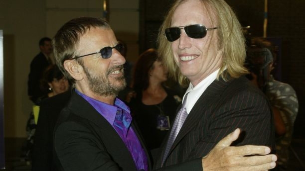 Musicians Ringo Starr and Tom Petty