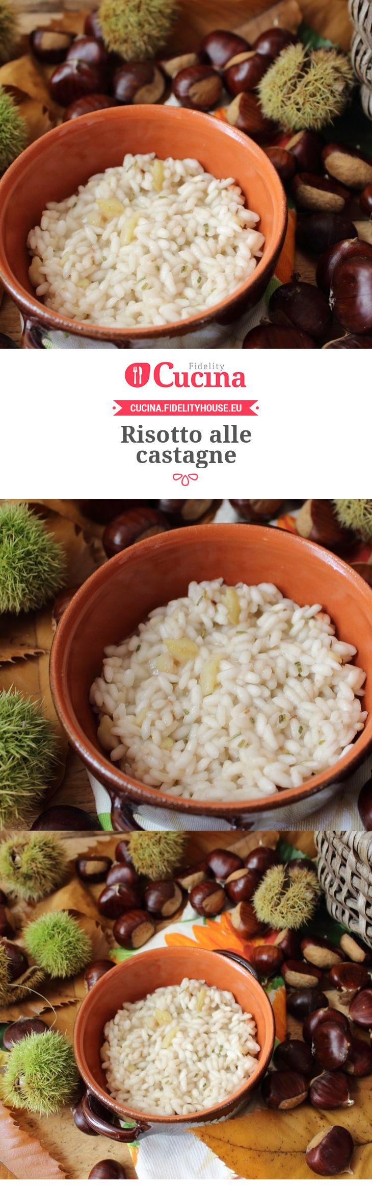 #Risotto alle #castagne della nostra utente Simona. Unisciti alla nostra Community ed invia le tue ricette!