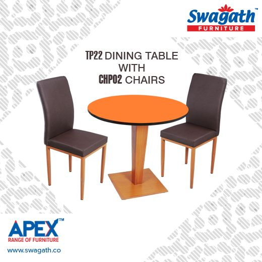 Brand New Model TP22 Dining #table With CHP02 #chairs From Swagathu0027s Apex  Range Of #furniture Is A Unique Combination Of Comfort And Luxury For Youu2026