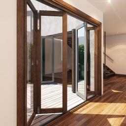 Stegbar Siteline external bi-fold doors