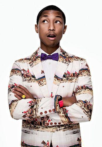 Pharrell Williams: Image from Pharrell's book via www.LuxeCrush.com