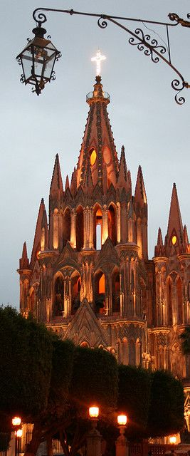 La Parroquia, the Parish church of San Miguel de Allende.