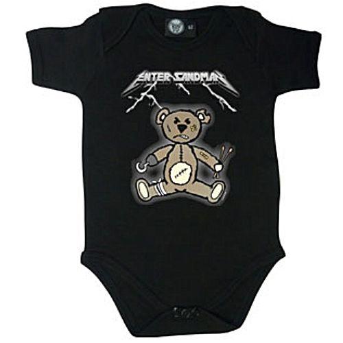 Metallica Tribute Enter Sandman Baby Bodysuit