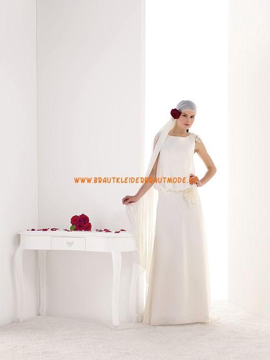 Romantische Brautmode berlin kaufen aus Chiffon Kolumne