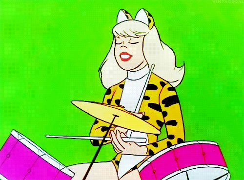 Image result for melody pussycat drummer
