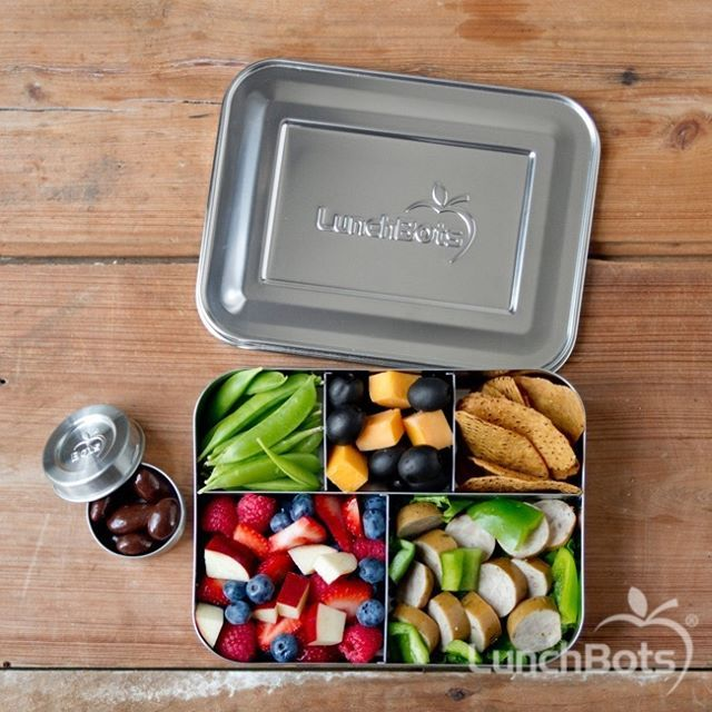 Give your kids REAL food. Make it fun for them by adding in loads of variety so they come home with an empty lunch box! LunchBots range definitely make it easier to be creative. Click the link to check out our range. Photo credit - LunchBots