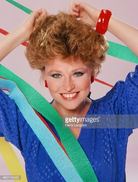 Actress Lauren Tewes poses for a portrait in 1983 in Los Angeles, California.