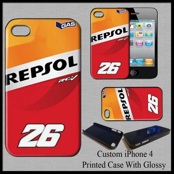 New Hard Case Cover For iPhone 4 Dani Pedrosa 26 MotoGp Champion Repsol Honda