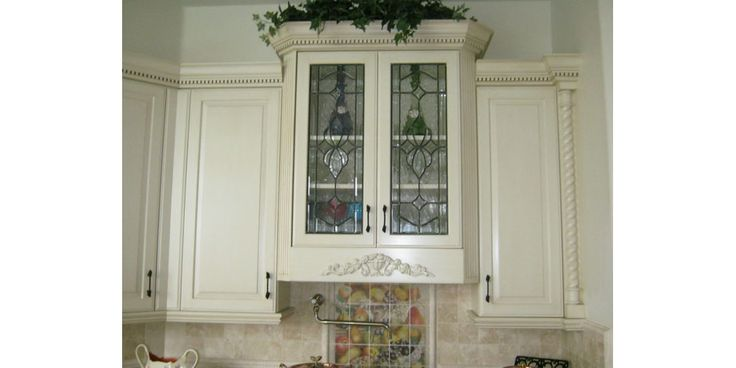 79 best leaded glass images on pinterest - Wrought iron kitchen cabinet door inserts ...