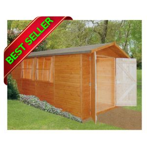 ready made flat packed garden sheds summer houses