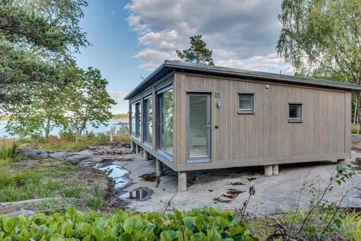 Modulbyggt sommarhus #sommarhus #fritidshus #naturmaterial #skandinaviskdesign #skandinaviskarkitektur
