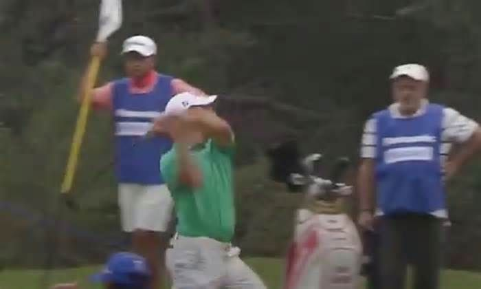 VIDEO: Asian Tour player chucks putter into trees after frustrating miss Sometimes a player has just had enough. Terry Pilkadaris seemed to be at his wit's end with his putter Thursday at the Asian Tour's Panasonic Open India. After bogeys at Nos. 15 and 16 at Delhi Golf Club, Pilkadaris had a good birdie look at the 17th.
