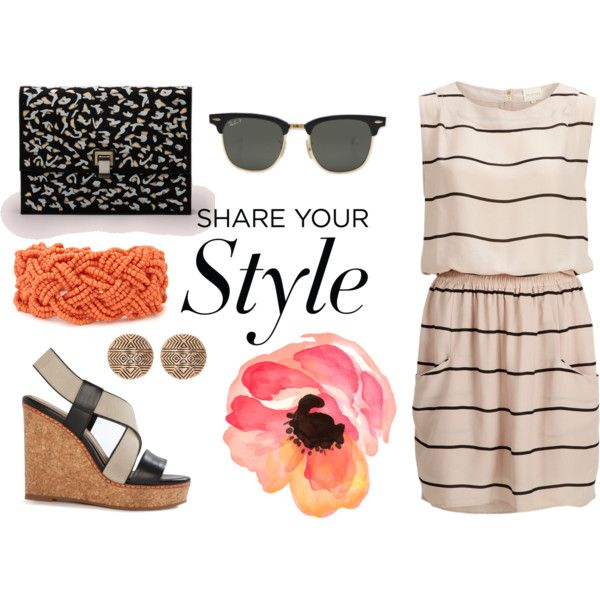 Perfect May Saturday by julia83 on Polyvore featuring SELECTED, Splendid, Proenza Schouler, House of Harlow 1960, Forever 21 and Ray-Ban