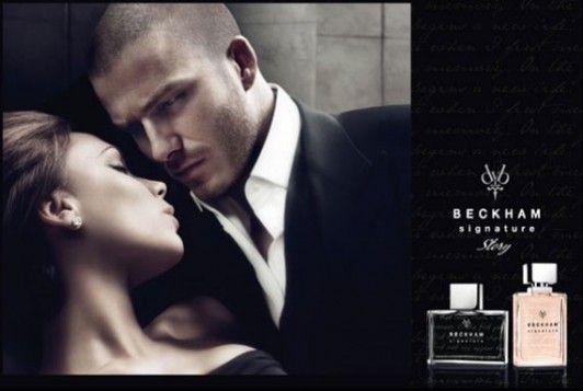 David Beckham  signature  ...  Le parfum  !!!