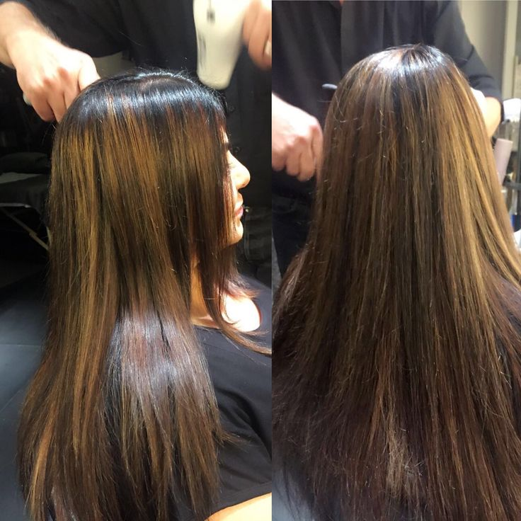 Hair extensions by Chantal at Midori.